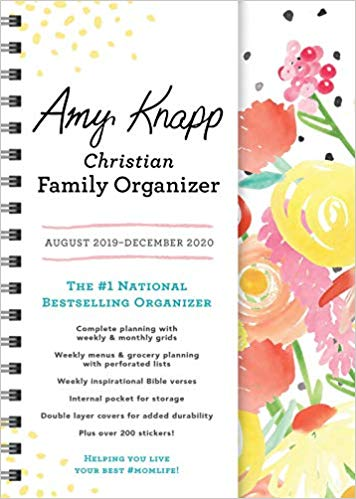 Amy Knapp's Family Organizer Calendar Aug 2019-Dec 2020