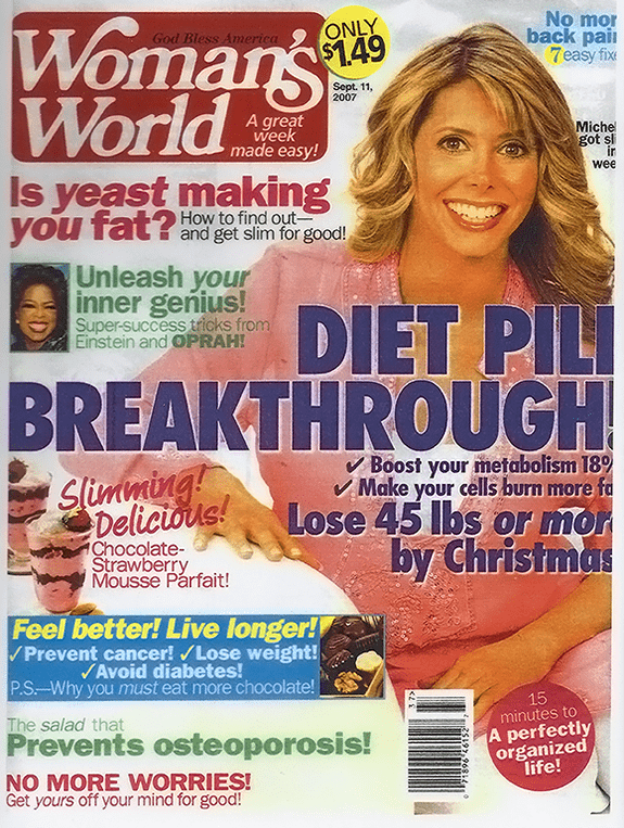 Woman's World Sep 11 2007 cover