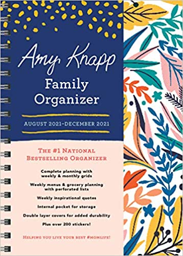 Amy Knapp Family Organizer August 2021 - December 2021